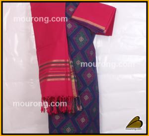 Salwar Kammez Urna, Jamdani Cotton, Tangail