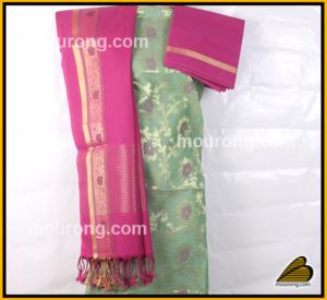 Salwar Kammez Jamdani Cotton Tangail